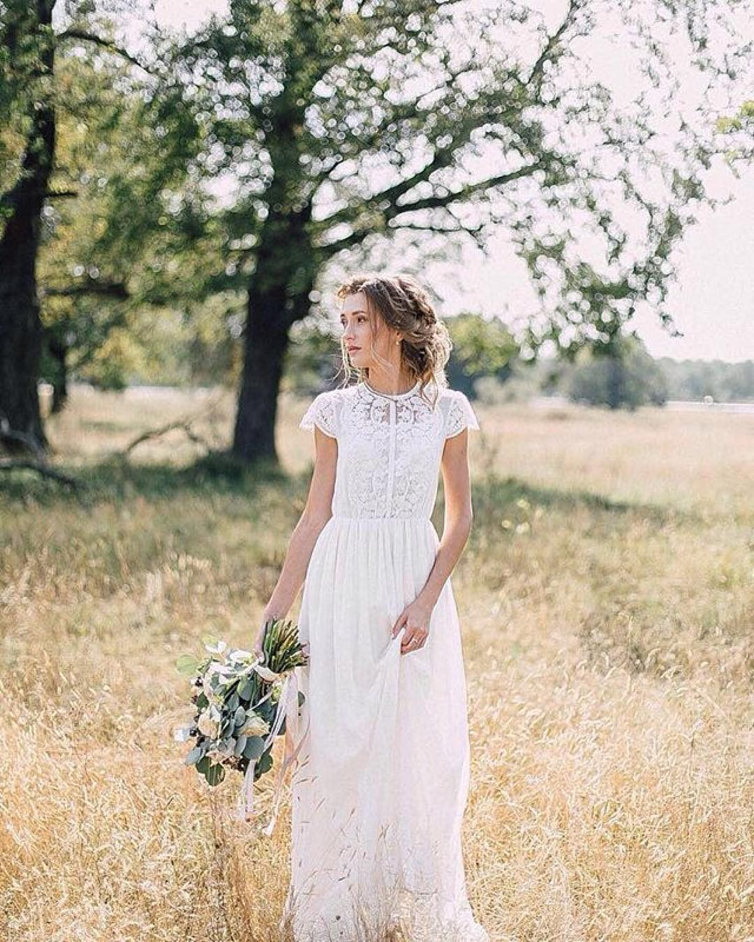 Dress fw wedding dress boho wedding dress romantic wedding