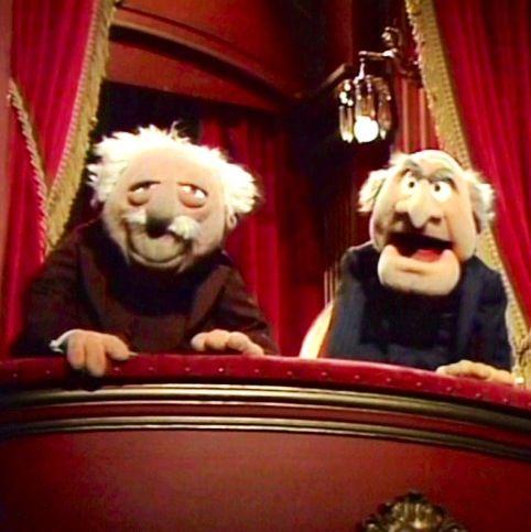 The Muppet Show's grumpy old men   Nostalgisches/my ...
