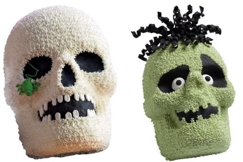 3-D Skull/Zombie Head cake pan! Just think of the epic zombie head cakes that you could make with this!!