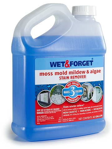 Wet Forget The Ultimate Mold Mildew Remover Requires No Scrubbing No Rinsing And No Pressure Washin Mildew Remover Mold And Mildew Remover Mold Remover