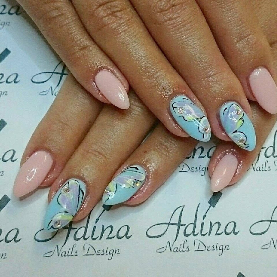 by Adina Trojan, Find more Inspiration at www.indigo-nails.com ...