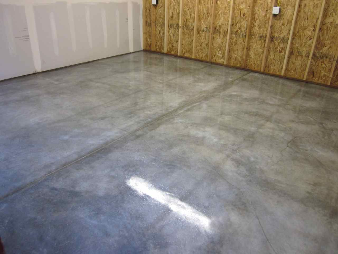 Great Time To Seal And Cover The Garage Floor Floor