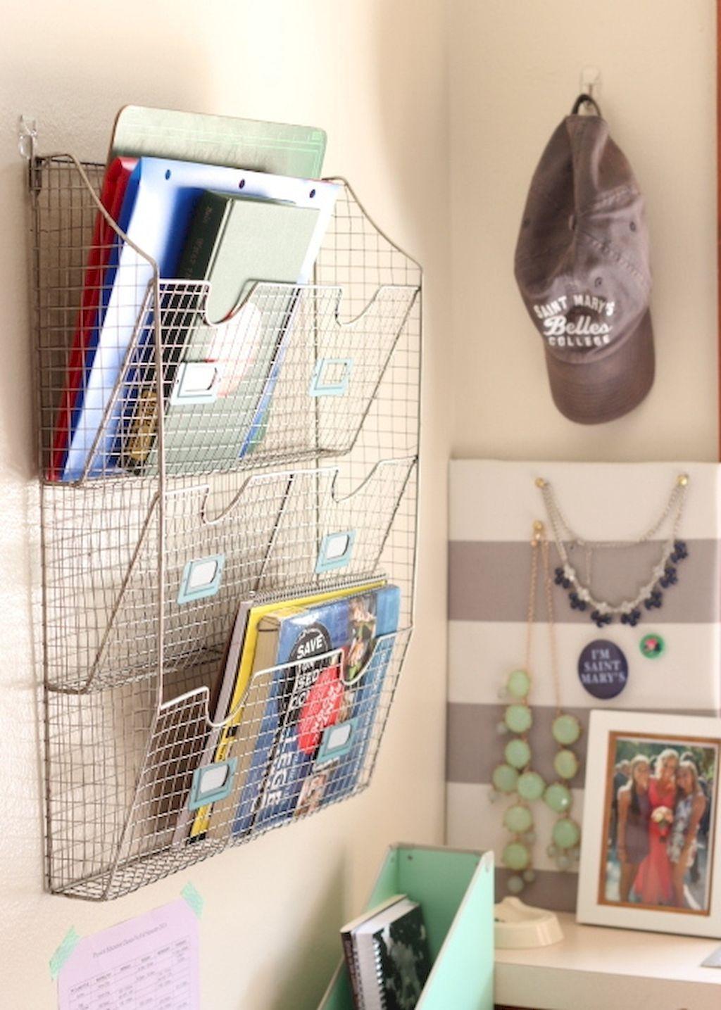 Cool 75 Genius Dorm Room Organization Ideas