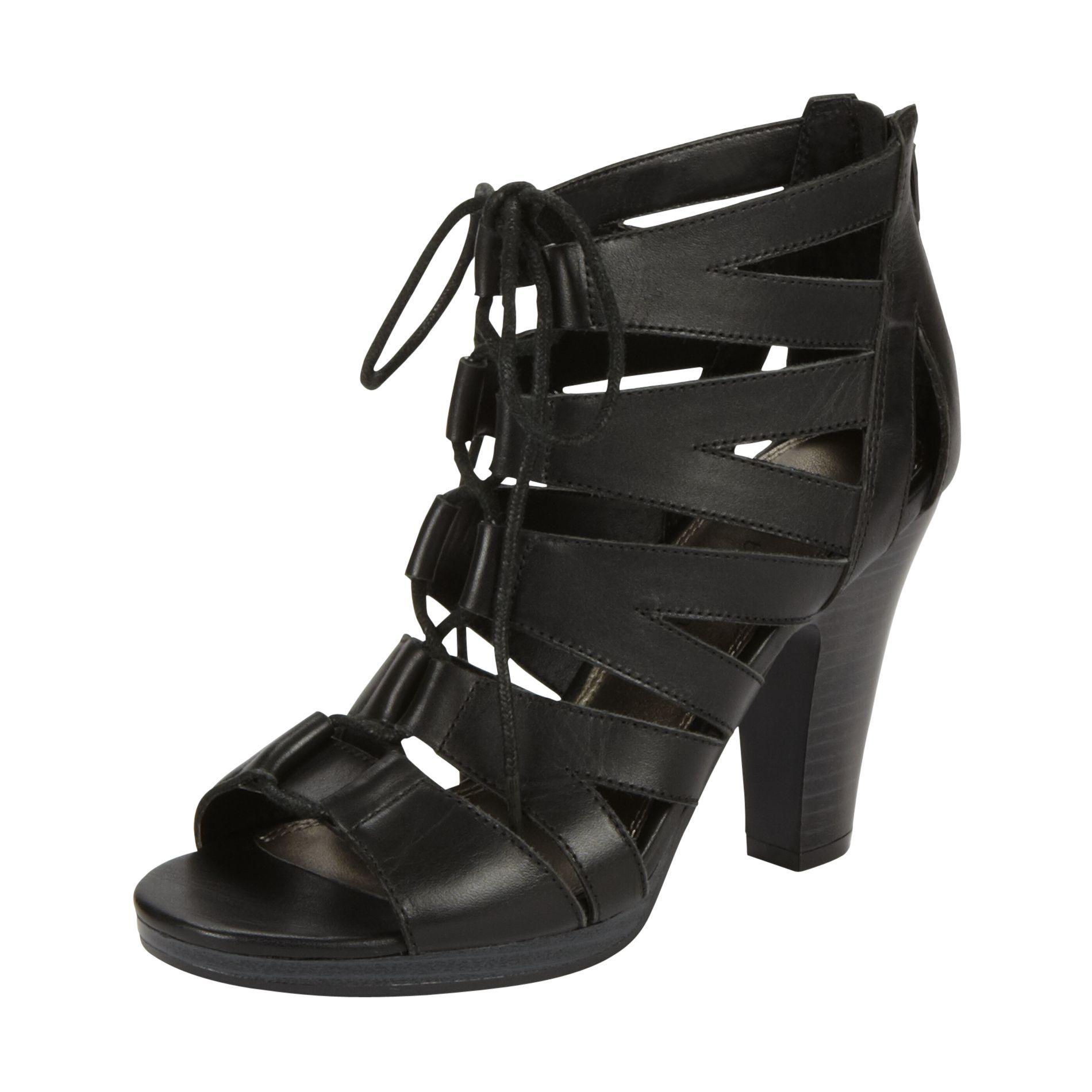 Womens sandals kmart - Women S Dress Shoe Gilligan Black 39 99 Kmart