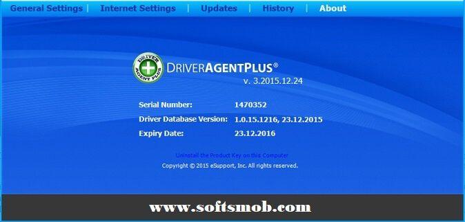 driver agent plus product key