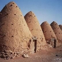 Syrian beehive housing