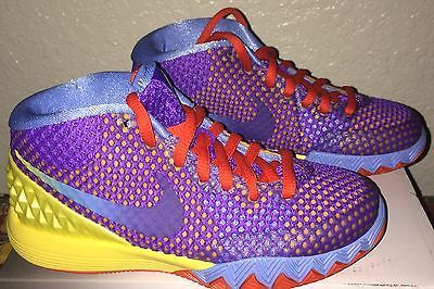 timeless design 654e7 d558f BOYS NIKE KYRIE 1 BASKETBALL SHOES YOUTH SIZE 11 NIB PURPLE