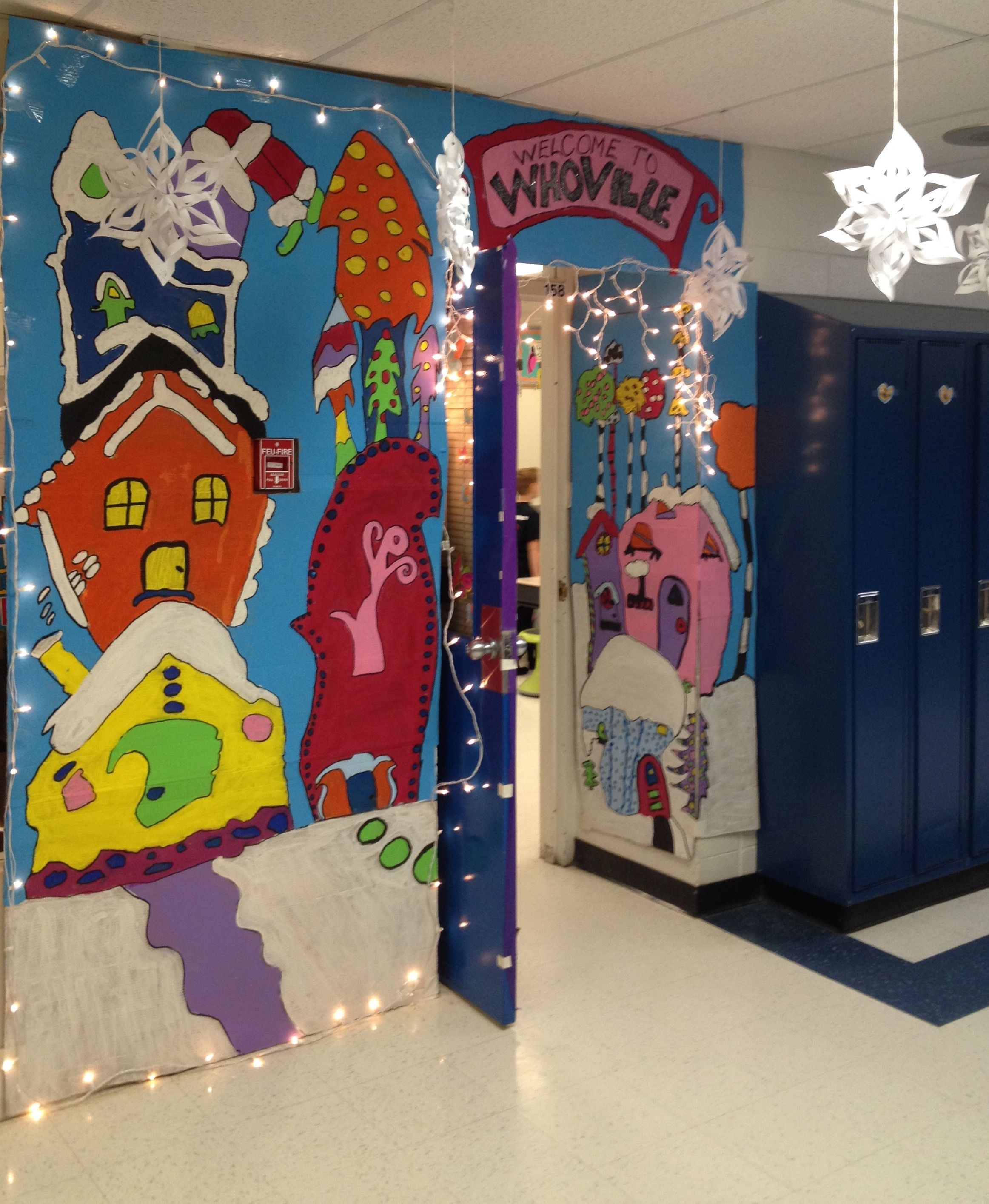 Pin By Jane Zimmer On Whoville Christmas Door