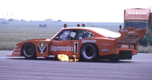 Klaus Ludwig The Jagermeister Powered Zakspeed Turbo Capri 1982