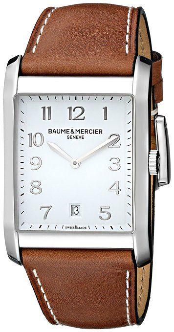Baume & Mercier Men's BMMOA10153 Hampton Analog Display Quartz Brown Watch