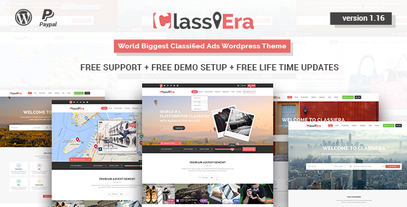 Classiera – Classified Ads WordPress Theme - https://themekeeper.com ...
