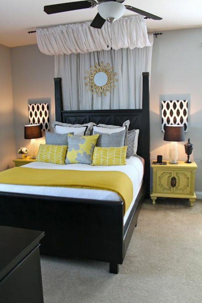 comment dcorer sa chambre coucher lit avec dcoration