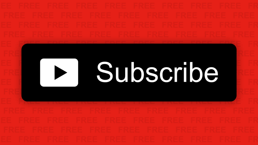 Youtube Subscribe Button Free Download 1 By Alfredocreates Com Youtube Free Download Subscribe