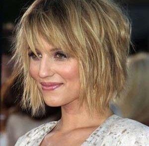 Cheveux fins femme coupe