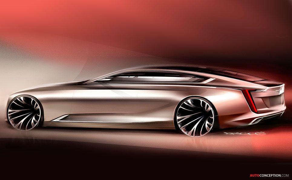 2016 Cadillac Escala Concept Automuija Pinterest Cadillac
