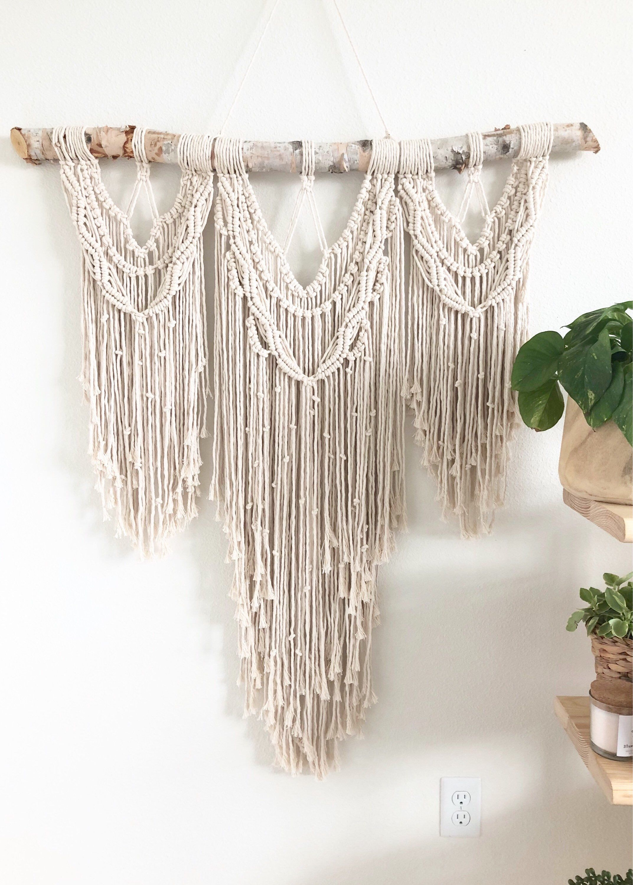 Large Macrame Wall Hanging Macrame Mural Wall Hanging Woven Tapestry Wall Hanging Macrame Wall Hanging Macrame Wedding Backdrop Large Macrame Wall Hanging