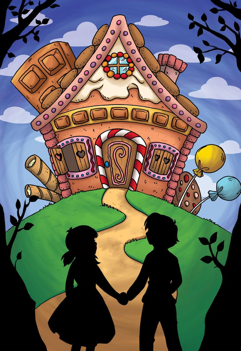 Image Result For Hansel And Gretel House Drawing Sprookjesboom Thema Sprookjes