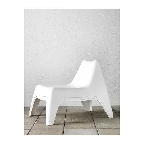 IKEA PS VG Chair, outdoor, white | Ikea ps, Outdoor ...
