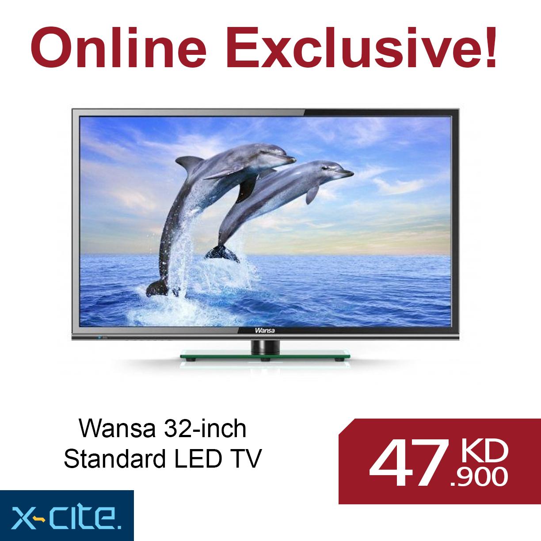 wansa 32 inch standard led tv available for 47 900kd http www rh pinterest com Vizio TV Manual Sony Trinitron Color TV Manual