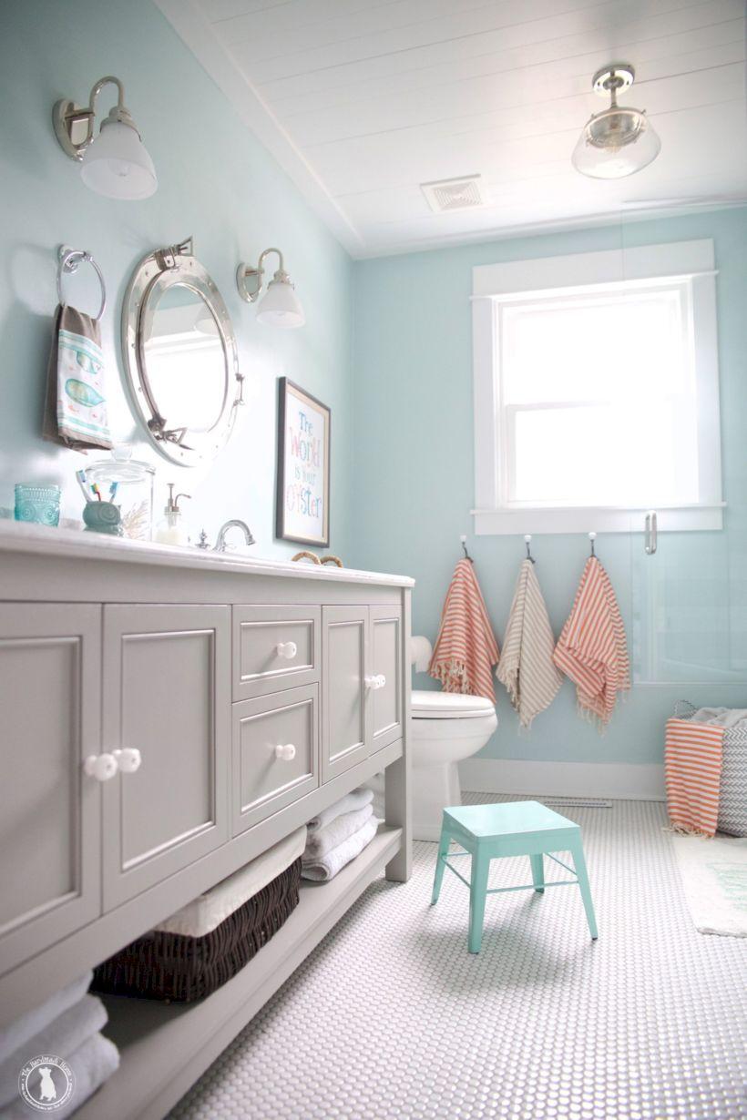 63 Cute Kids Bathroom Decorating Ideas | Kid bathrooms, Kid bathroom ...