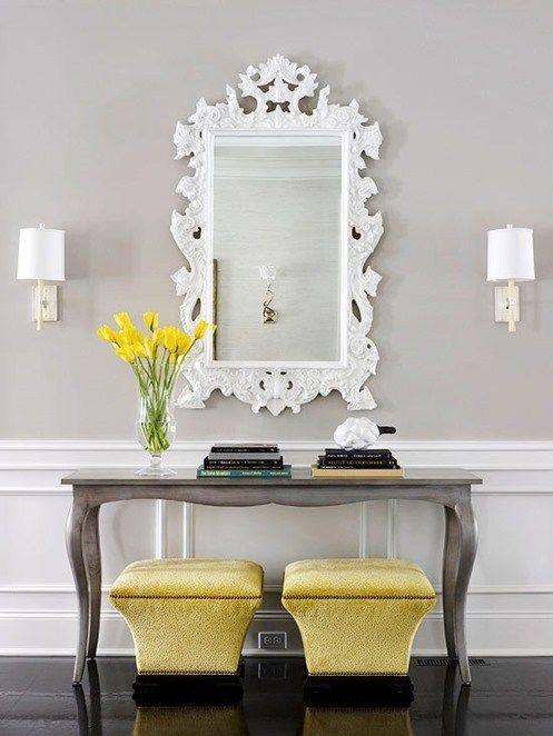 Formula For A Fabulous Foyer Centsational Style Home Decor Mirror Decor Decor