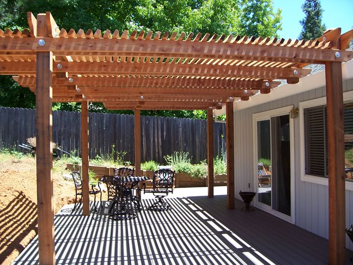 Photo Of Patio Cover Grass Valley, CA