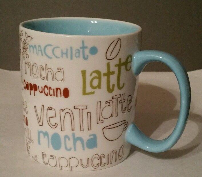 Starbucks Coffee/Tea Ceramic Mug 16 Oz Cup 2007 Mocha