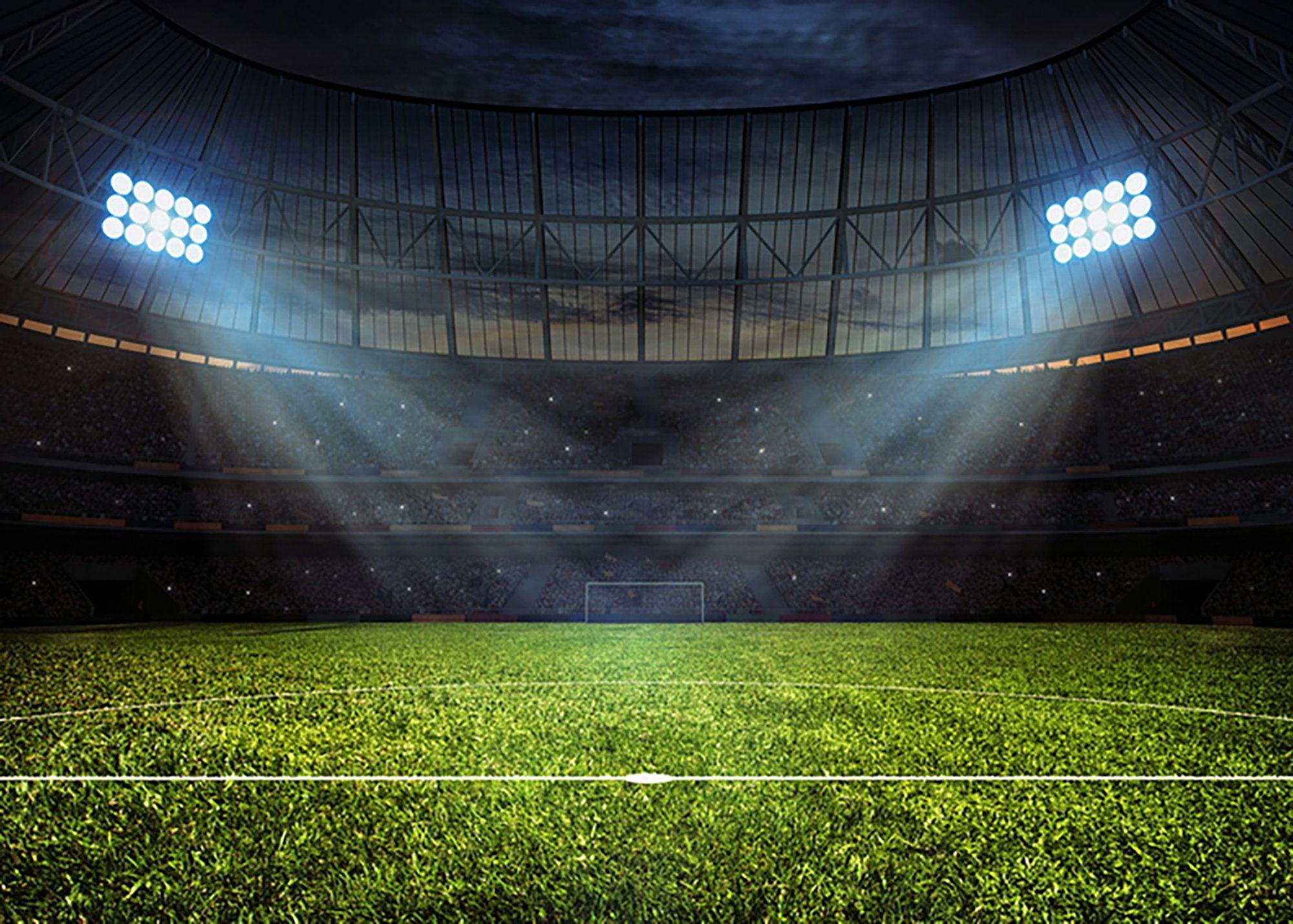 Stadium Backdrop Vinyl Cloth Backdrop Photography Football Etsy In 2020 Football Stadiums Stadium Wallpaper Football Pitch
