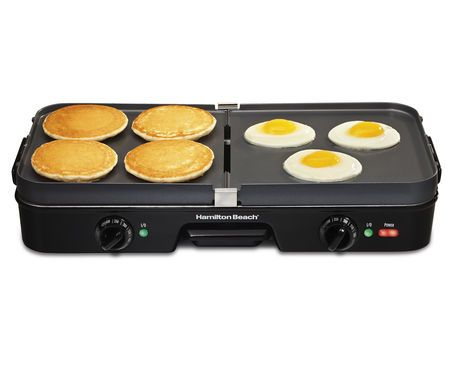 Hamilton Beach 3 In 1 Reversible Grill Griddle Walmart Ca