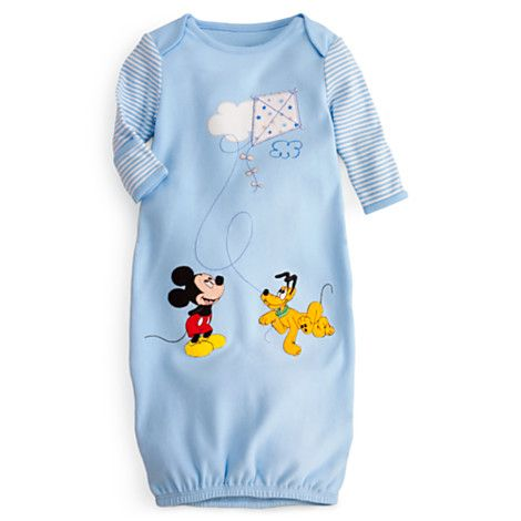 Mickey Mouse and Pluto Gown for Baby   Bodysuits   Disney Store