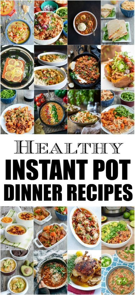 Healthy instant pot dinner recipes instant pot pressure cooker meals forumfinder Gallery