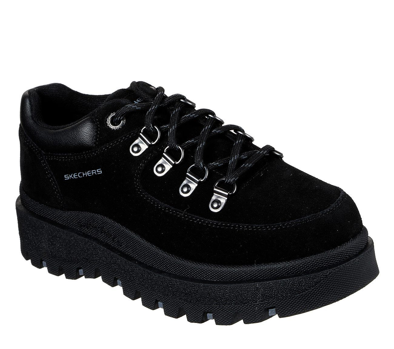 Skechers Shindigs Stompin' Trainers | Skechers, Lace up