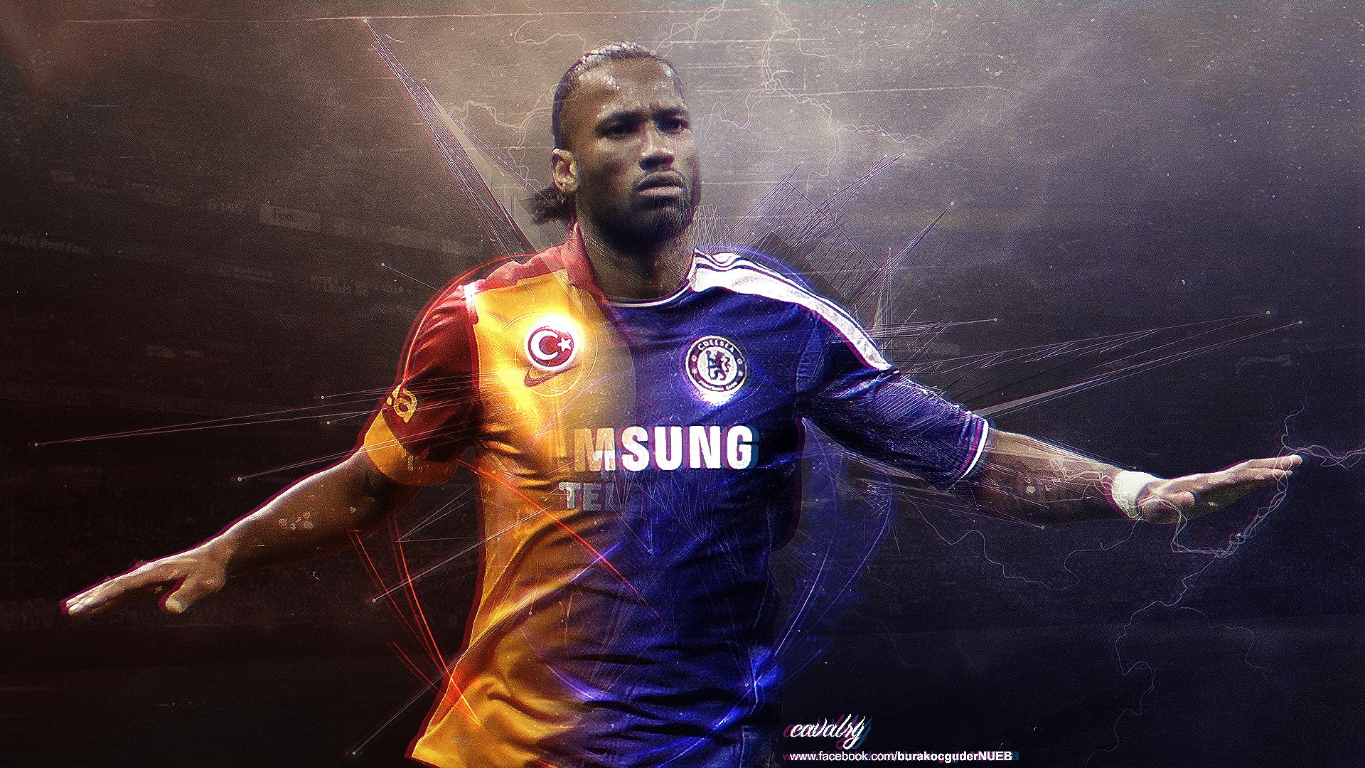 Didier Drogba Chelsea Legend Wallpaper Football Wallpapers Hd