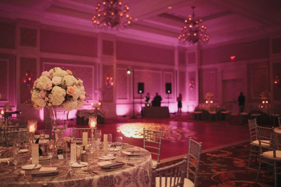 Waldorf Astoria Orlando Wedding Venue Pink Wash