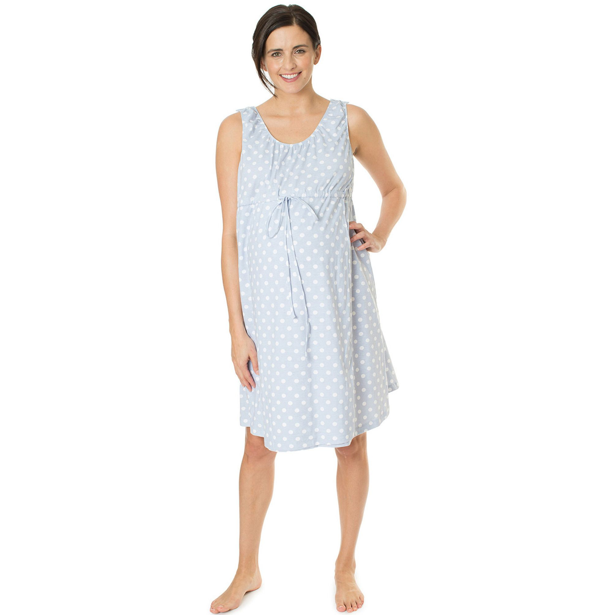 Nicole 3 in 1 Labor / Delivery / Nursing Gown | Nursing gown and Labour
