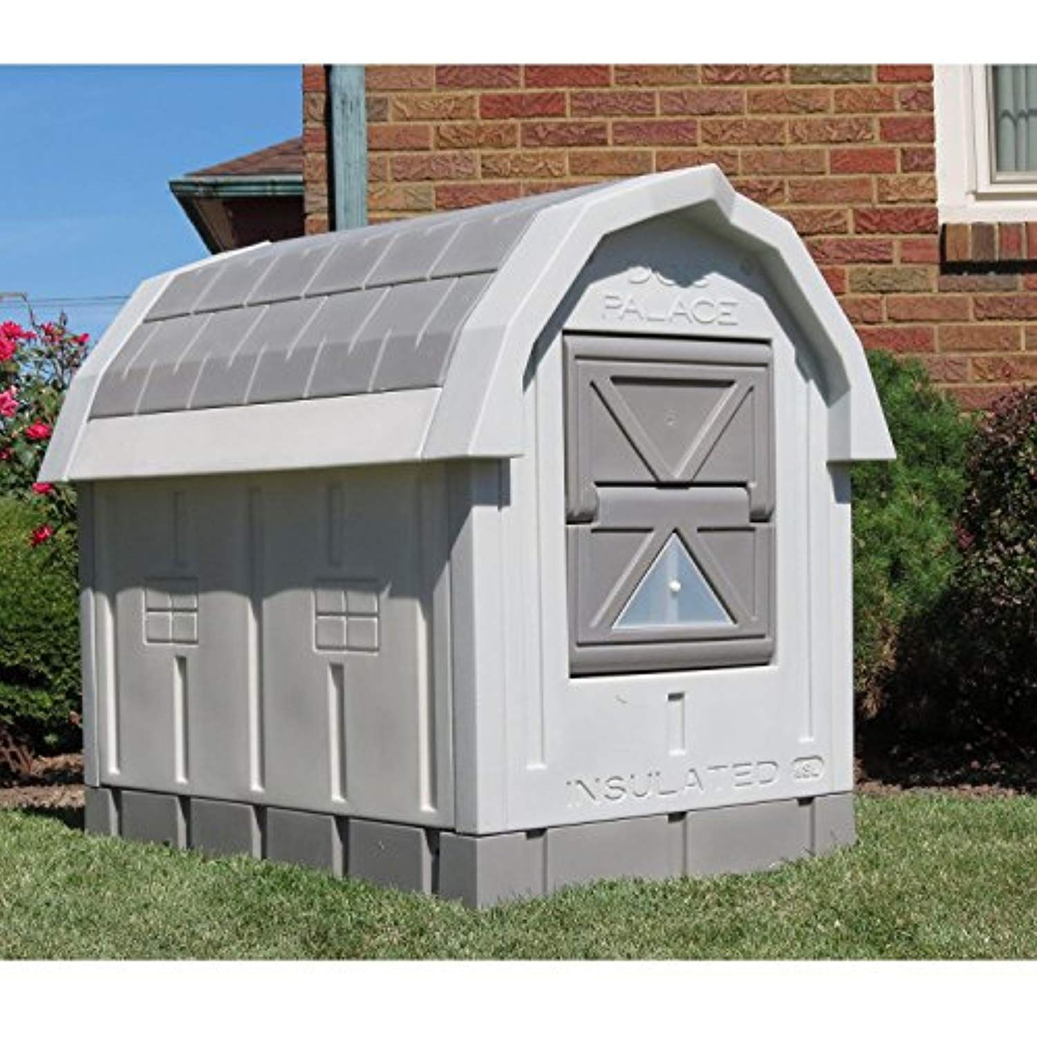 Asl Solutions Dog Palace For Med To Large Dogs Gray For More
