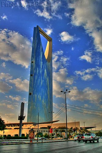 Kingdom Centre Hdr Explore Riyadh Riyadh Saudi Arabia Saudi Arabia