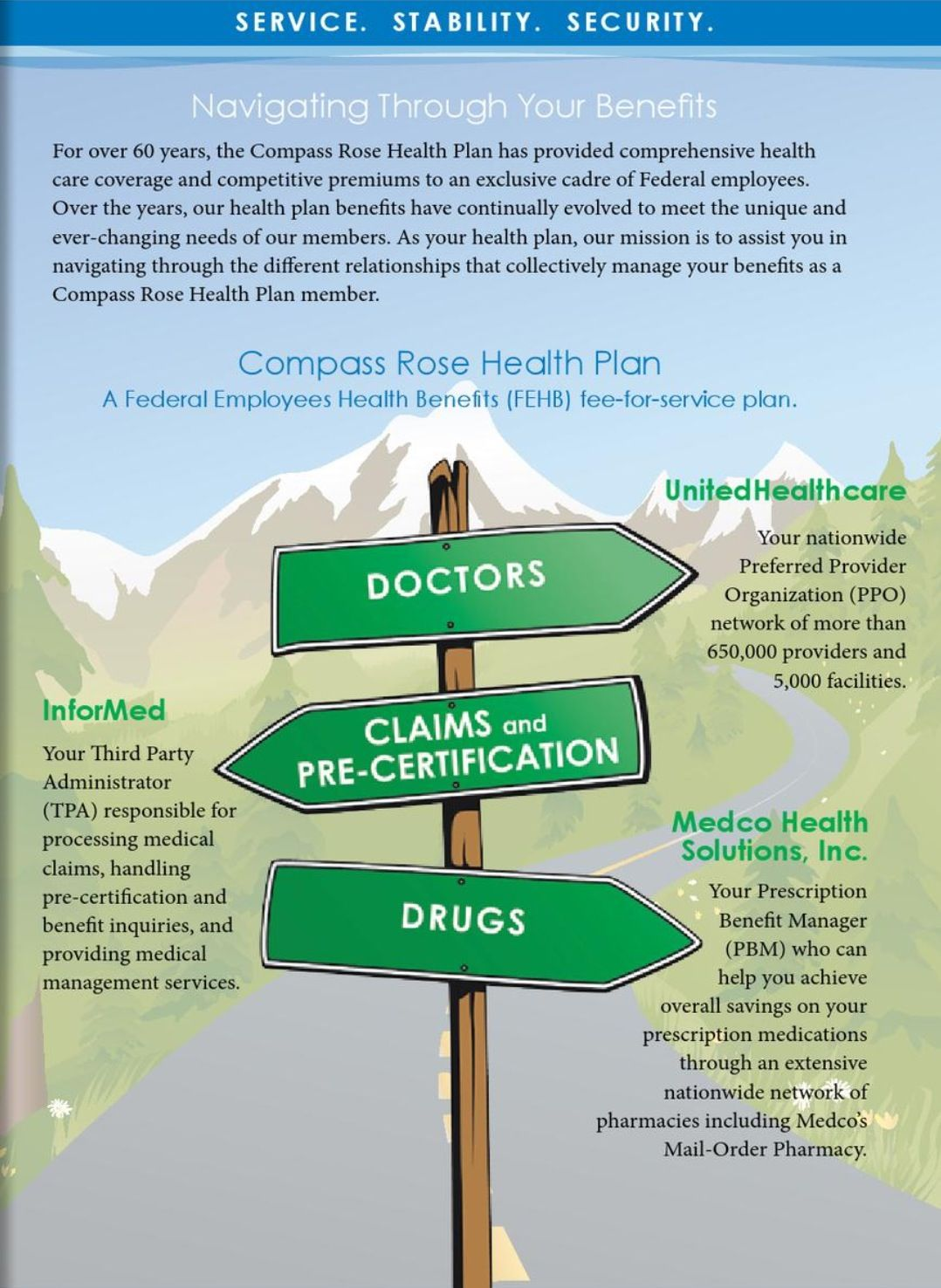 Compass rose health plan fehb plan health care