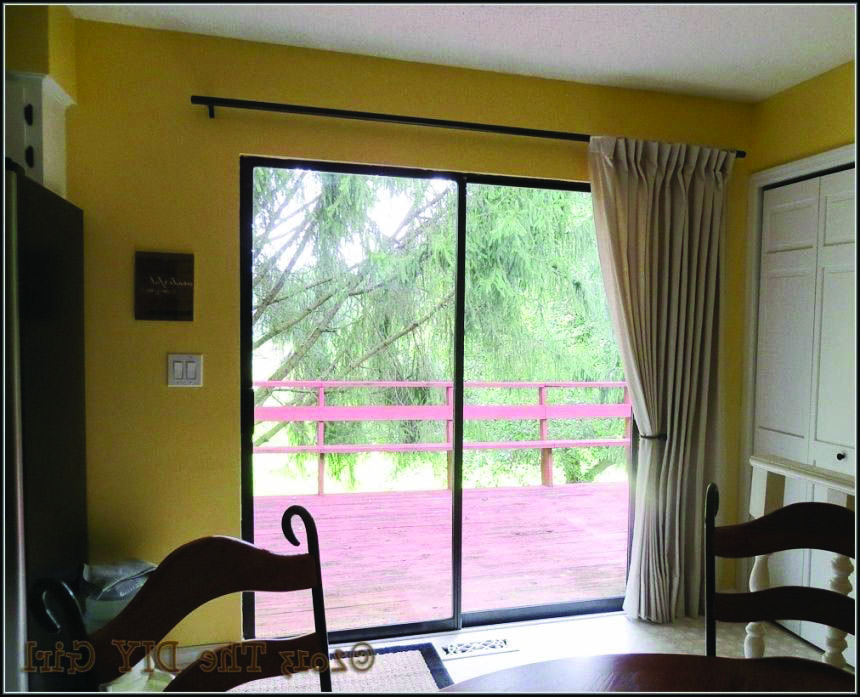 Awesome Patio Door Curtains Canada Tips For 2019 Patio Door Curtains Patio Doors Sliding Glass Door Curtains