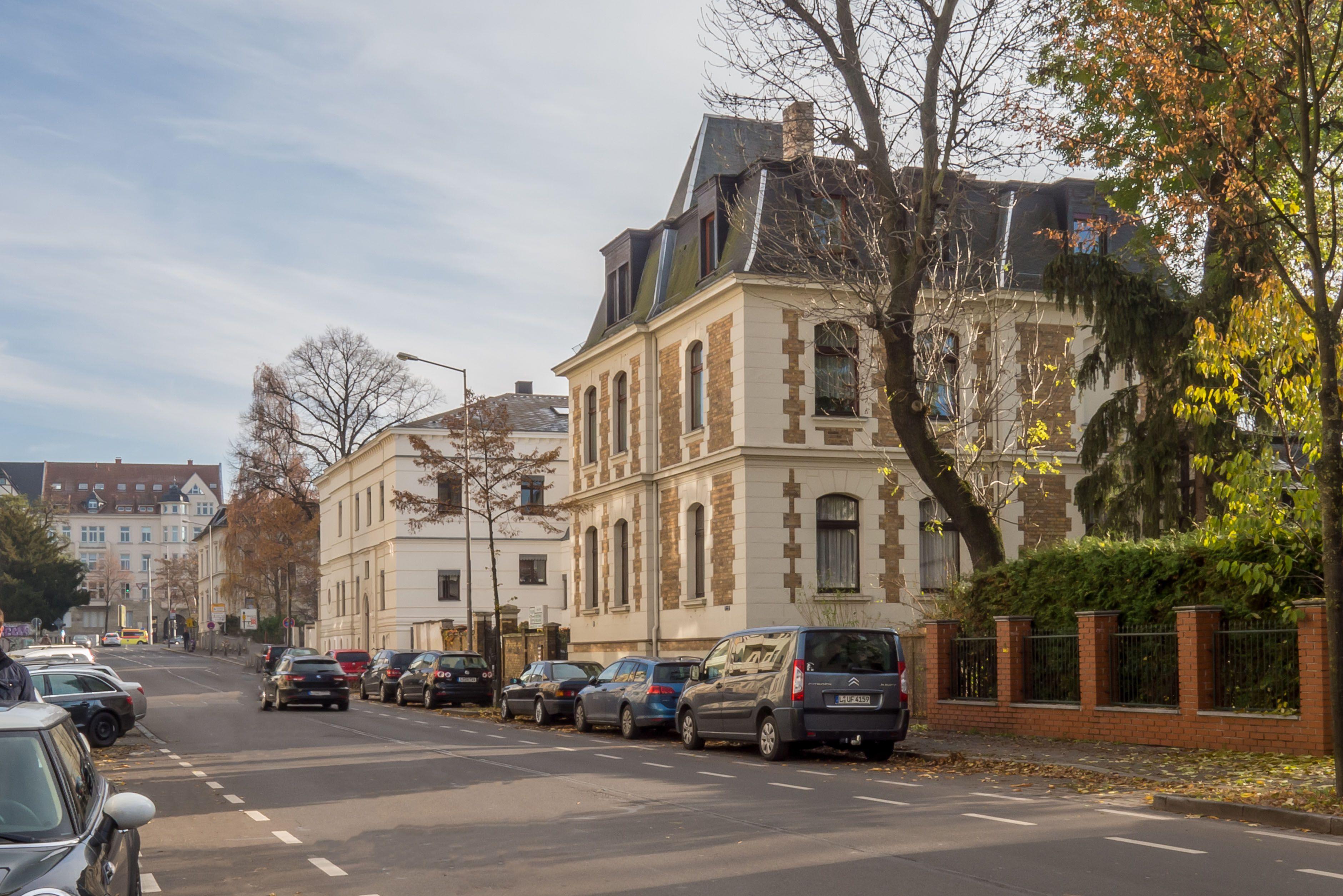 Altbauten in Leipzig, Gründerzeit, Historismus, Villa in