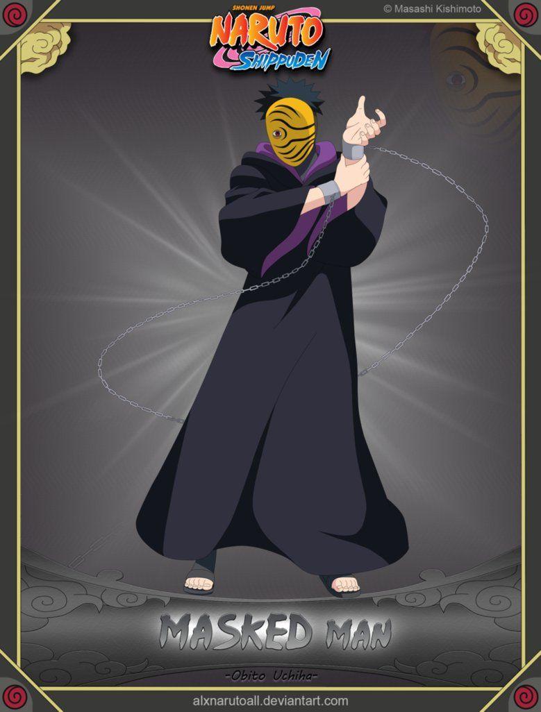 Masked Man Obito Uchiha Uchiha Masked Man Naruto Characters