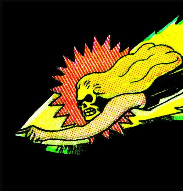 Fletcher Hanks Pop Art Comic Vintage Comics Old Comics