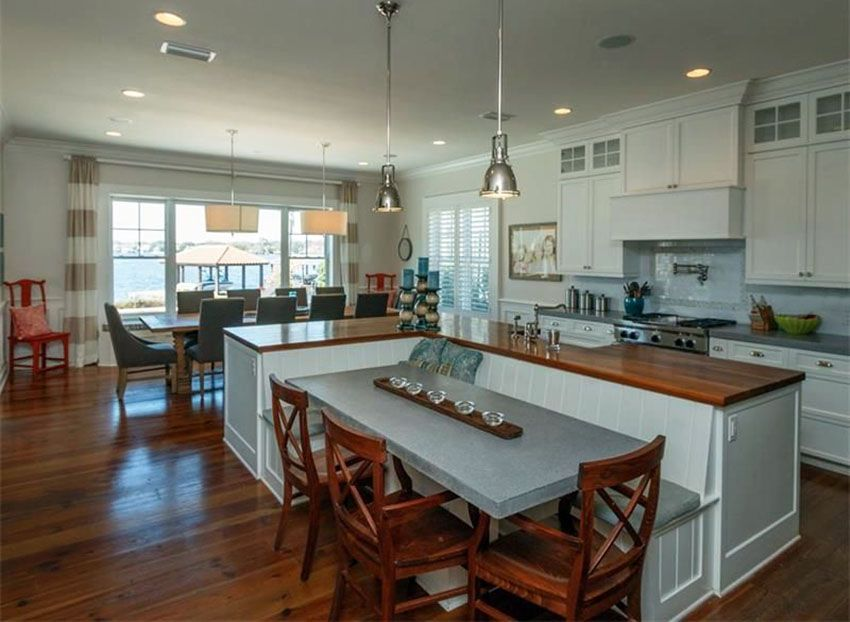 Beautiful Kitchen Islands With Bench Seating Kitchen Island With Bench Seating Kitchen Island Table Kitchen Island With Seating