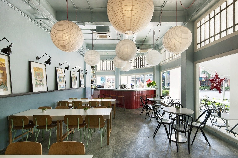 5 Interesting And Surprising Asian Eateries Around The World Asian Cafe Restaurant Interior Restaurant Design