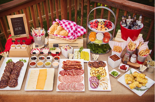 Burger Bar   Tackle Your Tailgating Party Concerns With These Tips