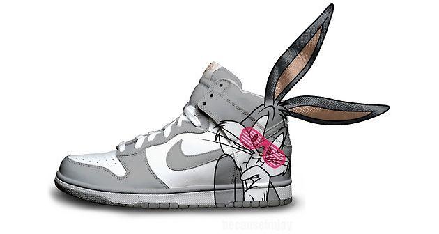 Bugs bunny Nike Shoes For Women
