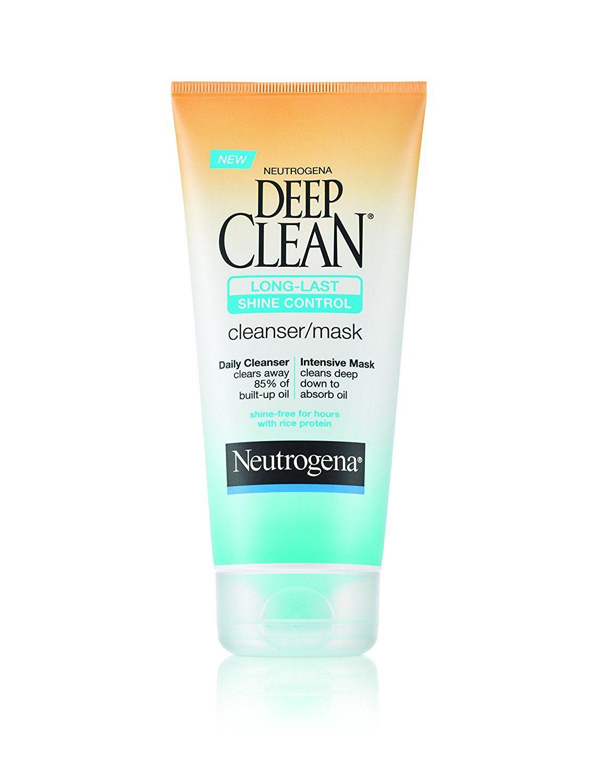 Neutrogena Deep Clean Long-Last Shine Control Cleanser/Mask, 6 Fluid Ounce (Pack of 3) * Visit the image link more details.