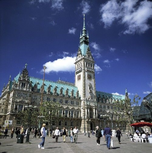 """Hamburg, Germany Town Hall. Love to visit #Hamburg? Include this in your #travel #bucketlist #bucket #list and checkout """"City is Yours"""" http://www.cityisyours.com/explore to discover amazing bucket lists created by local experts."""