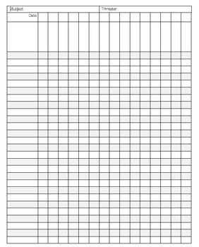 This Versatile Data Collection Sheet Is Perfect For Meeting