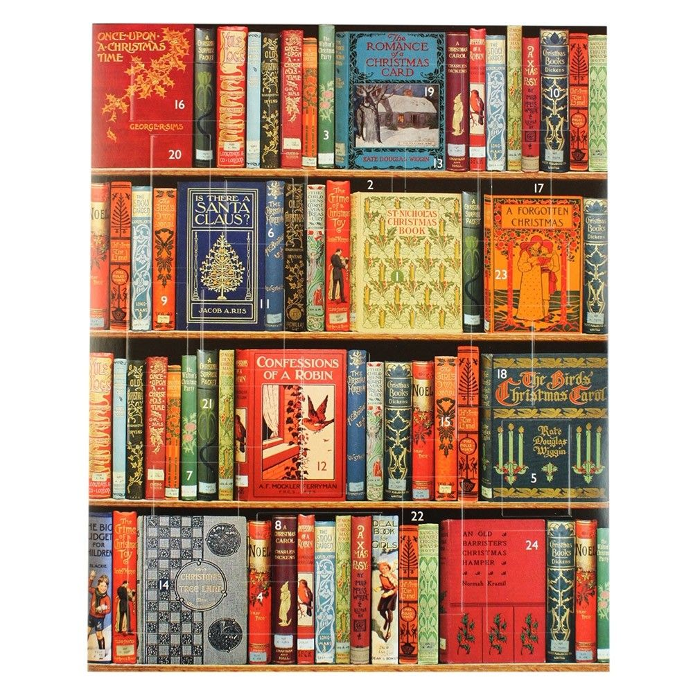 14 Advent Calendars For Bookworms Christmas Bookshelf Advent